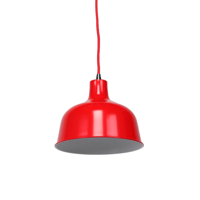 Dania Pendant Light - Flame Red - Pendant Light She Lights 6545FR