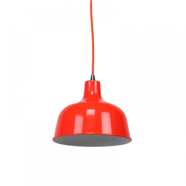 Dania Pendant Light - Luminous Bright Red - Pendant Light She Lights 6545LuBR