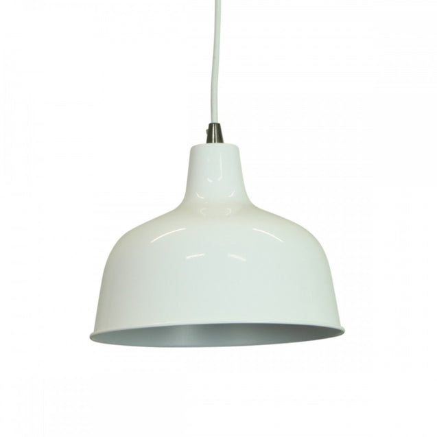 Dania Pendant Light - White - Pendant Light She Lights 6545W