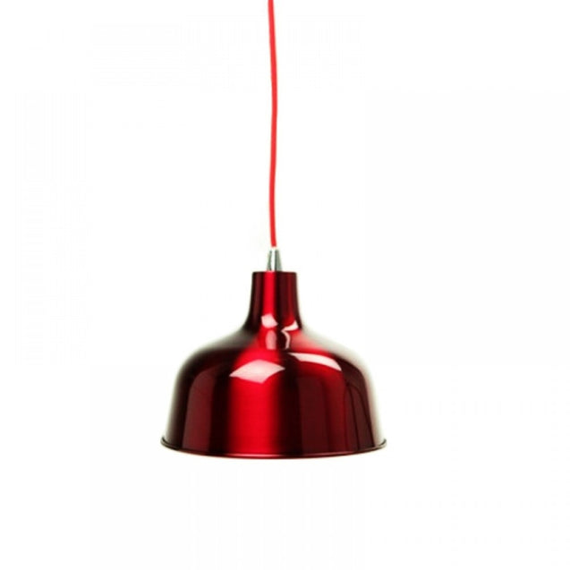 Dania Pendant Light - Wine Red - Pendant Light She Lights 6545WR