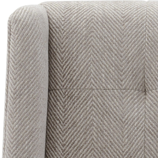 Duchess Occasional Chair Chevron Grey - Occasional Chairs Cafe Lighting & Living 31948