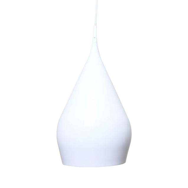 Eris Pendant Light - Glossy White - Pendant Light She Lights 6439SW