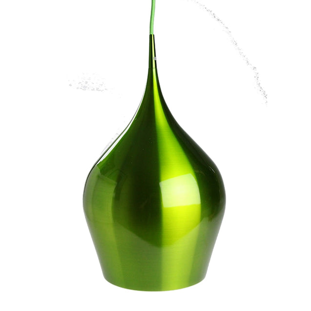 Eros Pendant Light - Green - Pendant Light She Lights 6440G
