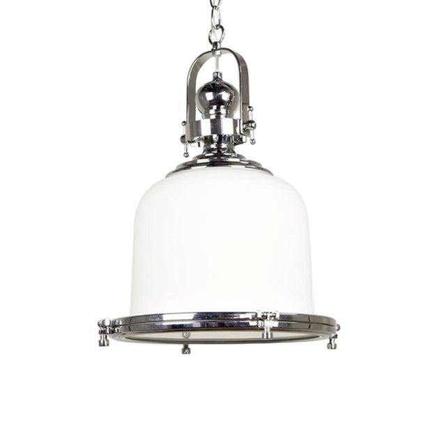 Gaia Classic Pendant Light - White - Pendant Light She Lights 6601GL