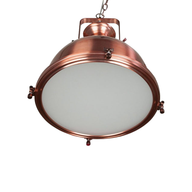 Gaia Industrial Pendant Light - Pendant Light She Lights 6589CE