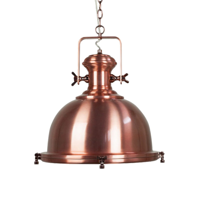 Gaia Industrial Pendant Light - Cooper - Pendant Light She Lights 6589RCP