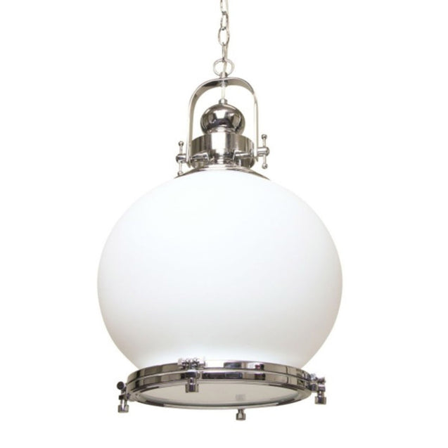 Gelos Round Pendant Light - Pendant Light She Lights 6613CH