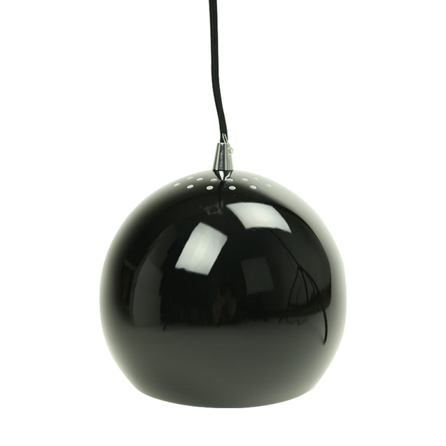 Inga Pendant Light - Black - Pendant Light She Lights 1056B