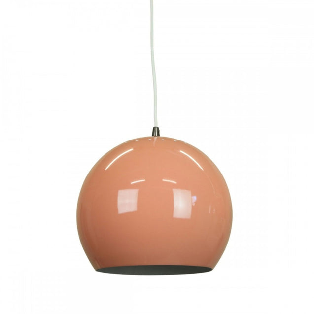 Inga Pendant Light - Red - Pendant Light She Lights 1056BEIGERED