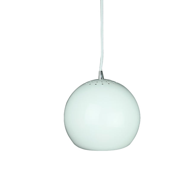 Inga Pendant Light - White - Pendant Light She Lights 1056W