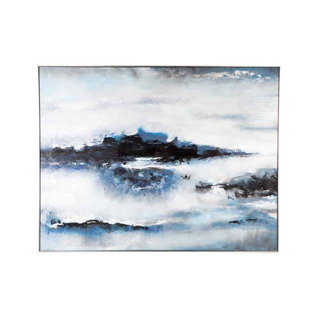 Into The Blue Wall Art - Oil Cafe Lighting & Living 52285