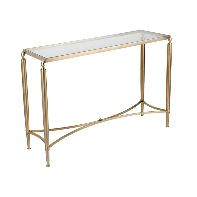 Jacques Console Table Gold - Console Table CAFE Lighting & Living 31581