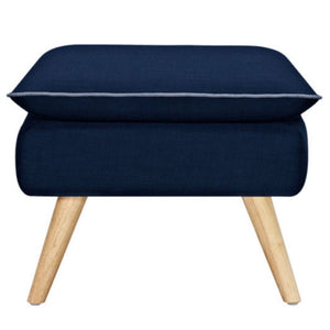 Luxe Ottoman Navy Blue - Ottoman 6ixty LUXSNB