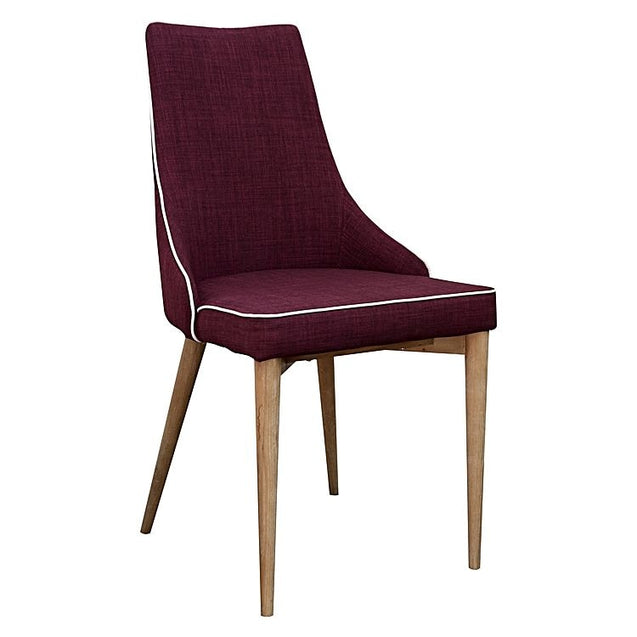 Martini Dining Chair (Set of 2) - Plum - Chair 6ixty MCP
