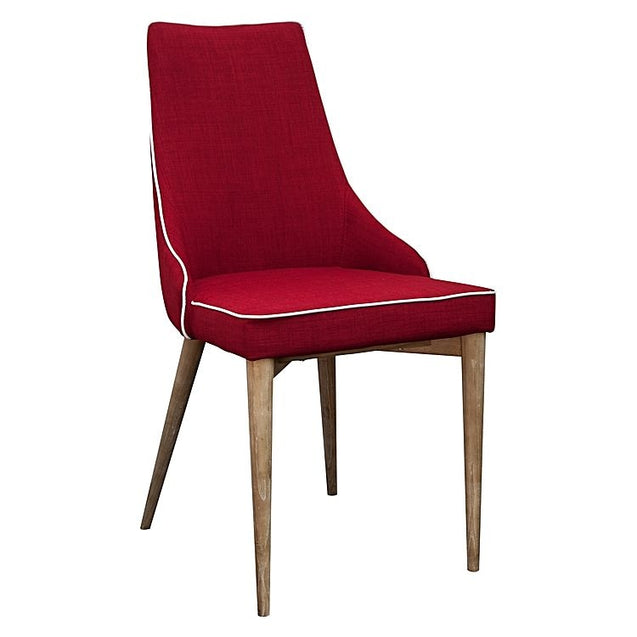 Martini Dining Chair (Set of 2) - Red - Chair 6ixty MCR