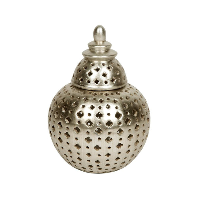 Miccah Temple Jar Large Champagne - Small - Jars Cafe Lighting & Living 52343