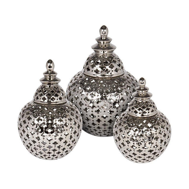 Miccah Temple Jar - Small - Jars Cafe Lighting & Living 52195
