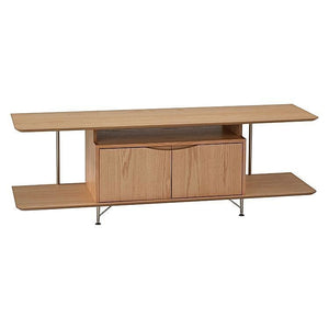 Oscar TV Entertainment Unit Oak - 6ixty 62TVO