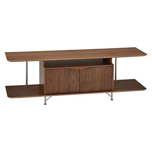 Oscar TV Entertainment Unit Walnut - 6ixty 62TVW