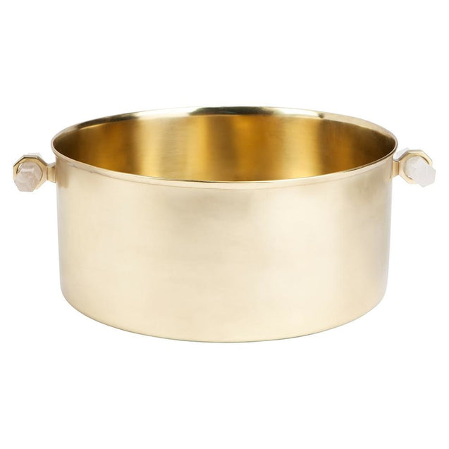 Paxton Champagne Bucket - Gold - Bowls & Buckets Cafe Lighting & Living 51609