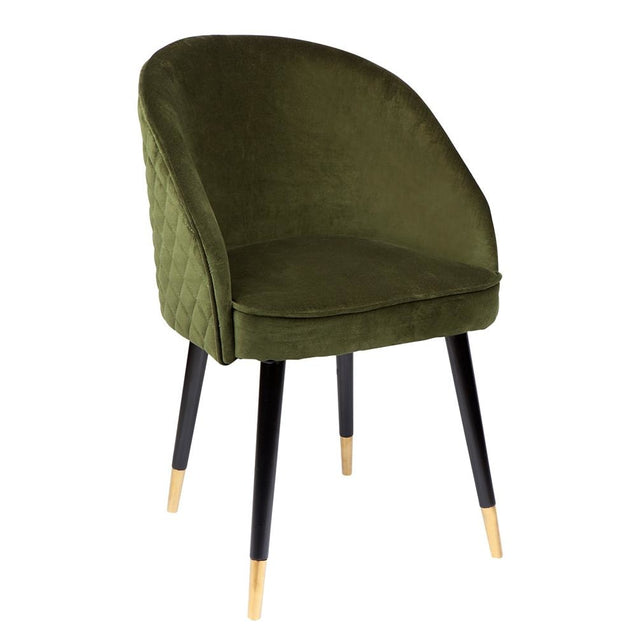 Reed Armchair - Moss - Occasional Chairs Cafe Lighting & Living 31604