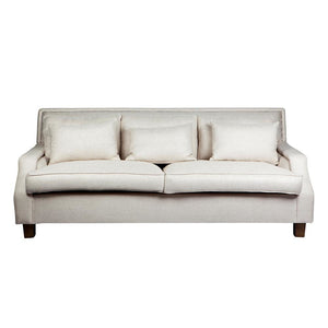 Riley 3 Seater Sofa Oatmeal - Sofas Cafe Lighting & Living 31954
