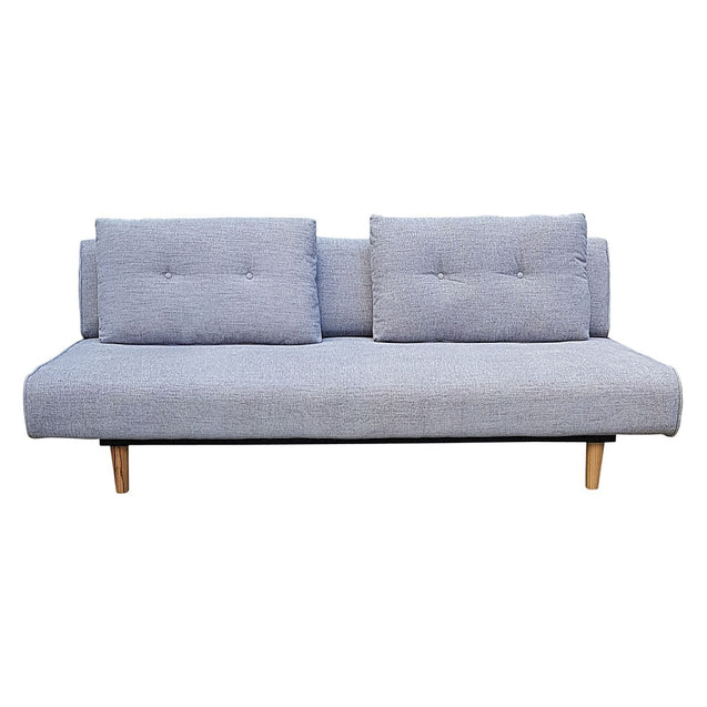 Rio 3 Seater Sofa Bed Light Grey - Sofa Bed 6ixty RISBLG
