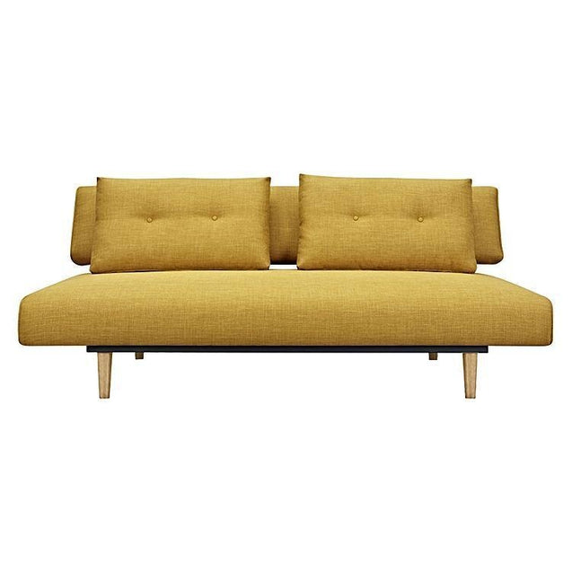 Rio 3 Seater Sofa Bed Yellow - Sofa Bed 6ixty RISBYE