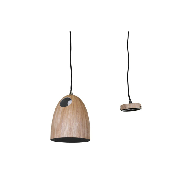 Rylka - Wood Venner - Pendant Light She Lights 200WOOD