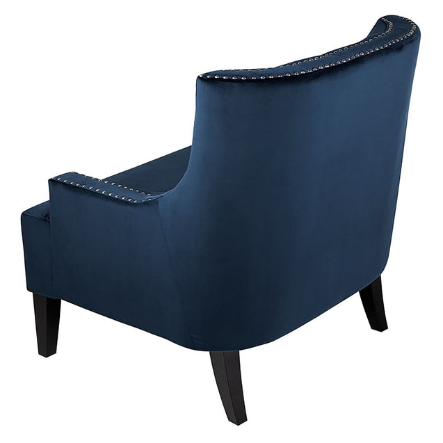 Sloane Armchair Navy - Armchair CAFE Lighting & Living 31345