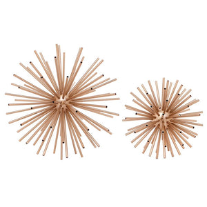 Sputnik Brass Decorator Set of 2 - Decorator Cafe Lighting & Living 51460