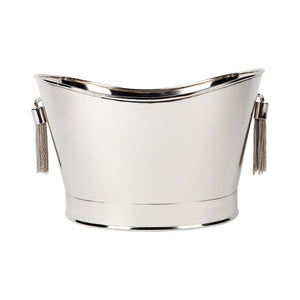 Tassell Champagne Bucket - Silver - Bowls & Buckets Cafe Lighting & Living 52259