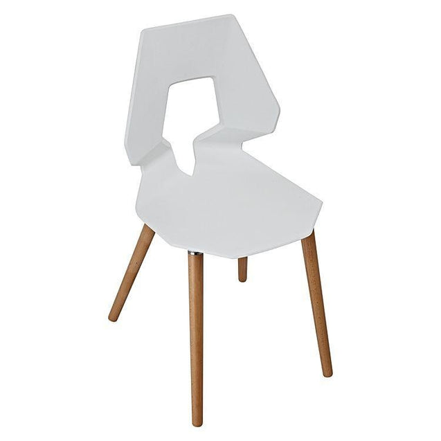 Tech Dining Chair (Set of 2) - white - Dining Chair 6ixty TCW