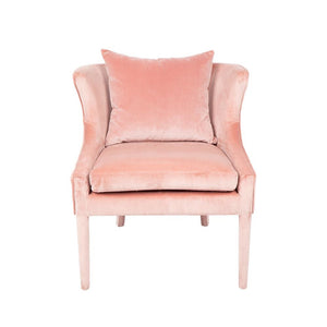 Tillie Armchair Pink - Occasional Chairs Cafe Lighting & Living 31866