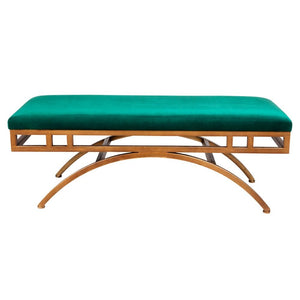 Vari Ottoman - Emerald Green - Bed Ends & Ottomans Cafe Lighting & Living 31112