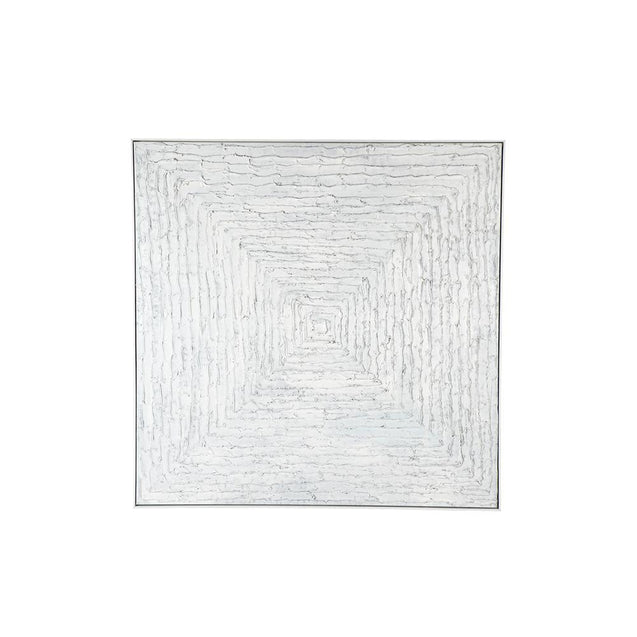 White Dream Wall Art - Vortex - Oil Cafe Lighting & Living 52284