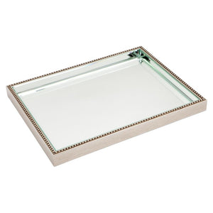 Zeta Tray - Large - Silver - Trays Cafe Lighting & Living 50497