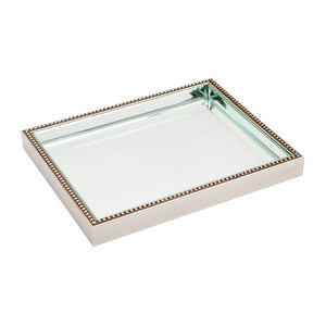 Zeta Tray - Medium - Silver - Trays Cafe Lighting & Living 50498