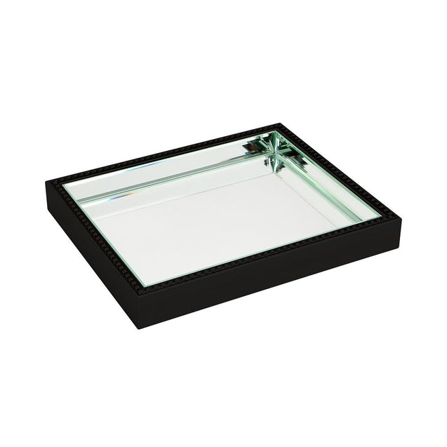 Zeta Tray - Small - Black - Trays Cafe Lighting & Living 52319