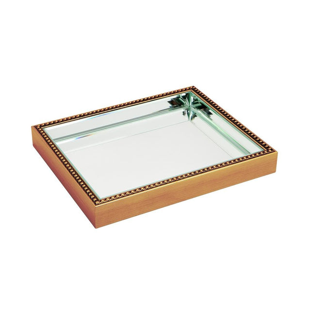 Zeta Tray - Small - Gold - Trays Cafe Lighting & Living 52320