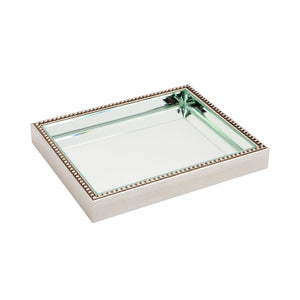 Zeta Tray - Small - Silver - Trays Cafe Lighting & Living 50496