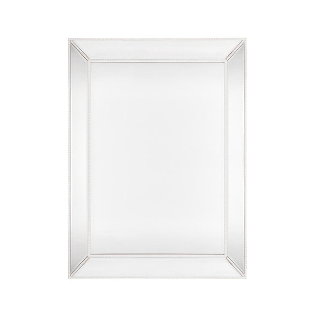 Zeta Wall Mirror Large - White - Wall Decor Cafe Lighting & Living 40380