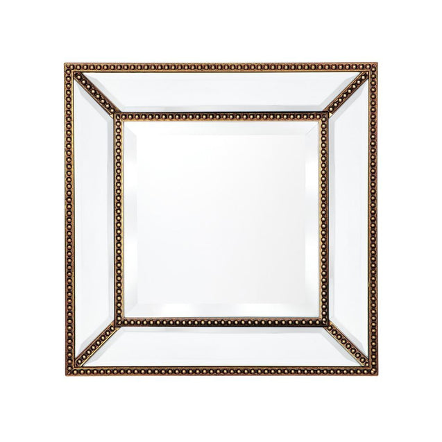 Zeta Wall Mirror Small - Gold - Wall Decor Cafe Lighting & Living 40390