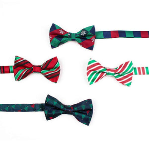 Christmas Bow Ties (Set of 4)