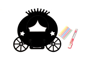 Princess Cart Chalkboard + Whiteboard