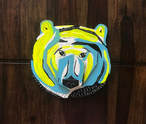 Grizzly - Art on Wood