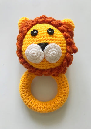 Lion King Crochet Teether