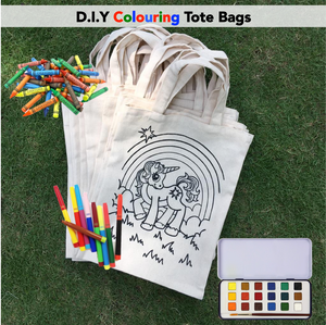 D.I.Y Colouring Magical Unicorn Tote Bag