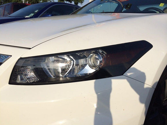 2008-2012 HONDA ACCORD COUPE HEADLIGHT EYELIDS PRECUT TINT OVERLAYS