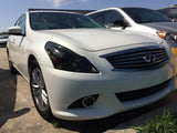2010-2013 INFINITI G37 SEDAN HEADLIGHT PRECUT TINT OVERLAYS